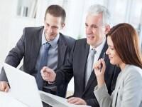 פגישה בקרן החדשה לסיוע לעסקים קטנים ובינוניים
