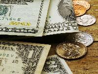 שטרות דולר ומטבעות