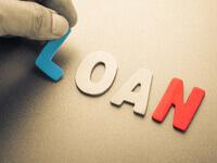 אותיות LOAN - הלוואה